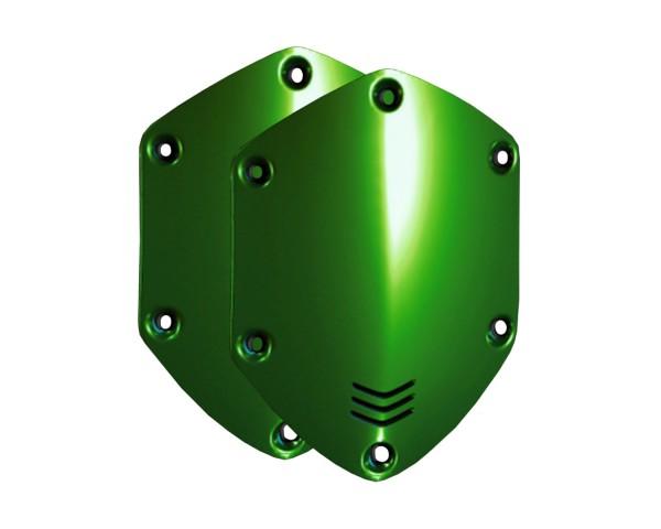 V-Moda XS Shield Plates Hawk Green