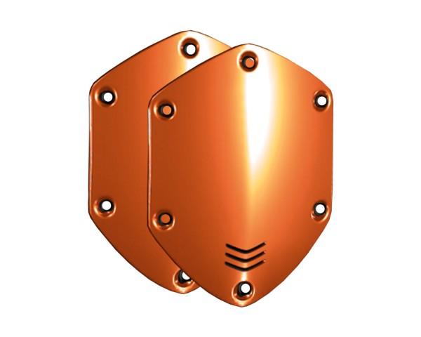 V-Moda XS Shield Plates Orange