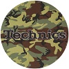 Technics Slipmat Technics Logo Army