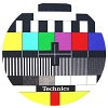 Technics Slipmat Technics Logo TV
