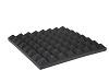 Accoustic Foam, Pyramid 50mm, 50x50cm
