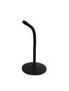Mic-Table Stand 25 cm Gooseneck black