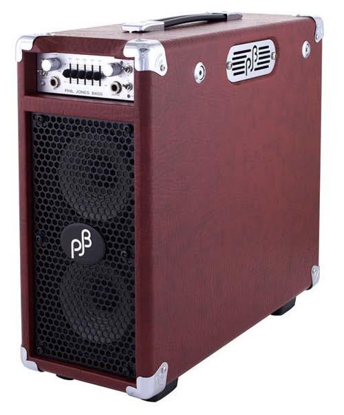 Phil Jones Briefcase 100W Combo 2x5 Piranha-A Red