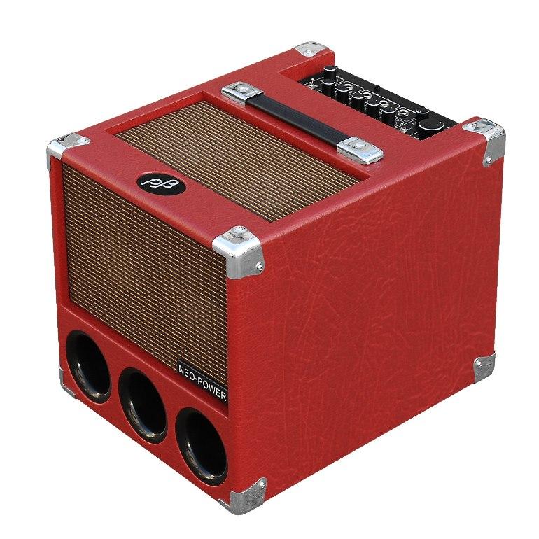 Phil Jones Flightcase 150W Digital Combo 4x5 Neo Red