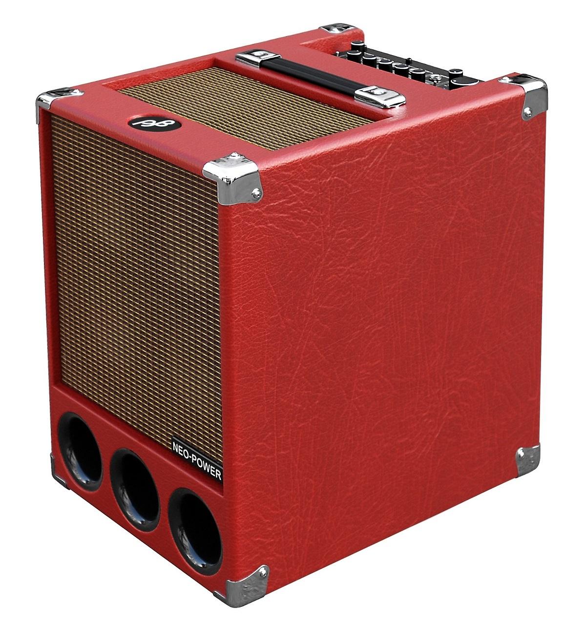 Phil Jones Super Flightcase 250W Combo 6x5 Neo Red