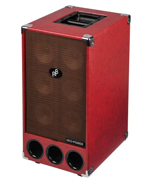Phil Jones 250W Neo Powered Cabinet 6x5 Red