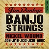 Dunlop DJN0930 Banjo Strings Nickel