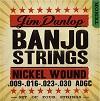 DJN0930 Banjo Strings Nickel