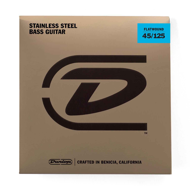 Dunlop DPFS45125 Flatwound Bassträngar