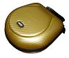 Headphone Case Large Gold PU
