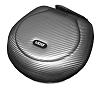Headphone Case Large Silver PU