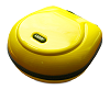 Headphone Case Large Yellow PU