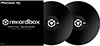RekordBox Control Vinyl Pair Black