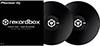 RekordBox Control Vinyl Pair Black