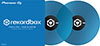 RekordBox Control Vinyl Pair Blue