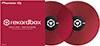 Pioneer DJ RekordBox Control Vinyl Pair Red