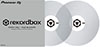 RekordBox Control Vinyl Pair Clear