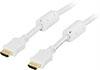 HDMI Cable Type A Ma-Ma 10m White