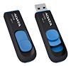 A-DATA 64GB USB 3.0 Black/Blue