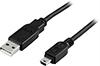USB 2.0 Type A Male > Type Mini B Male 1m