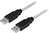Cable USB 2.0 Type A Male > Type A Male 1m