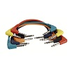 DAP Audio 1x6.3mm ST angled > 1x6.3mm ST angled 0.3m (6-pack)