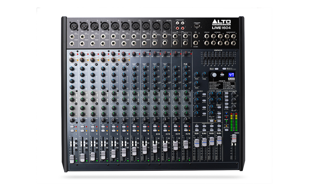 Alto LIVE 1604 Unpowered Mixer