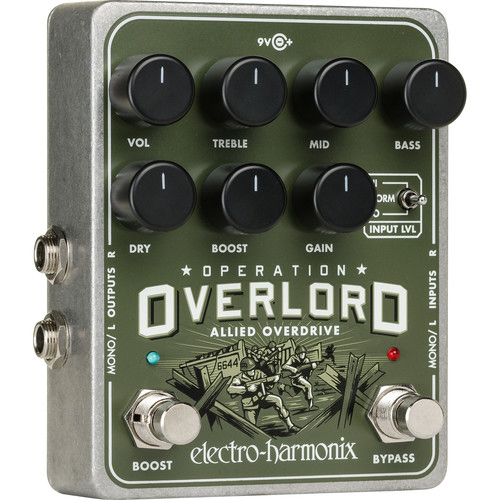 Electro-Harmonix Operation Overlord Stereo-Overdrive