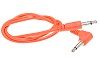 Doepfer A-100C50A Cable angled connection 50cm orange