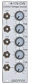 Doepfer A-176 Manual CV Source