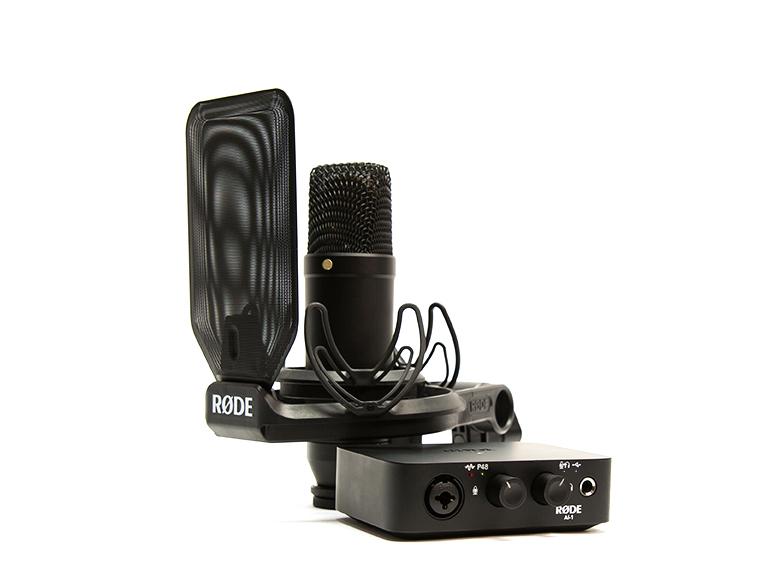 Røde NT1 + Ai-1 Complete Studio Kit