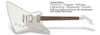 Epiphone Tommy Thayer White Lightning Explorer