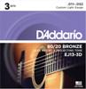D'Addario EJ13-3D