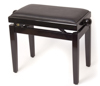 North Star Piano Bench Gloss Black