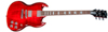 Gibson SG Standard HP 2018 Blood Orange Fade with G-Force