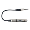 DAP Audio 6.3mm Ma MO (50 kilo-Ohm) > XLR Fe (600 Ohm)