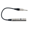 DAP Audio 6.3mm Ma MO (50 kilo-Ohm) > XLR Ma (600 Ohm)