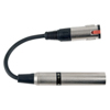 DAP Audio 6.3mm Fe MO (50 kilo-Ohm) > XLR M. (600 Ohm)