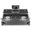 UDG Flight Case Pioneer DDJ-RX/SX/SX2 Silver Plus (Laptop Shelf)