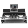 UDG Flight Case Pioneer DDJ-RR/SR/SR2 Silver Plus (Laptop Shelf)