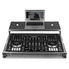 UDG Flight Case Multi Format XXL Silver Plus (Laptop Shelf)