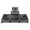 UDG Flight Case CDJ 2000/900 Nexus II Silver Plus (Laptop shelf + Wheels)