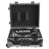 UDG Flight Case Multi Format Turntable Silver Plus (Trolley & Wheels)