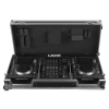 UDG Flight Case Denon Set SC5000/X1800 Black Plus (Wheels)