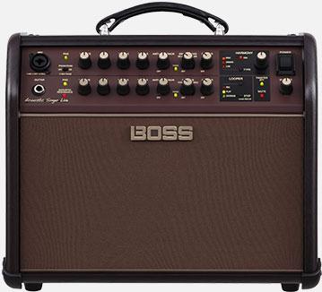 Boss Acoustic Singer Live Amp Cover