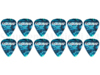 Celluloid Pick Heavy OCEAN TURQUOISE 12 Pack