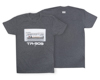 Roland TR-909 CREW TSHIRT MD CHARCOAL