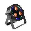 FLAT STAR - Flat 2-in-1 RGBWA+ UV PAR Light with RGB Ring