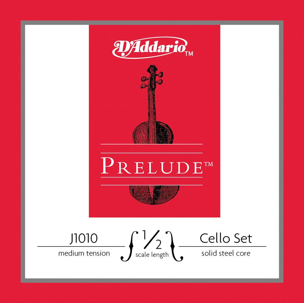 D'Addario J1010 1/4M Prelude cello set.