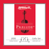 D'Addario J1010 1/4M Prelude cello set.